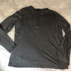 H&M LIKE NEW SHORT OR LONG SLEEVE SZ L